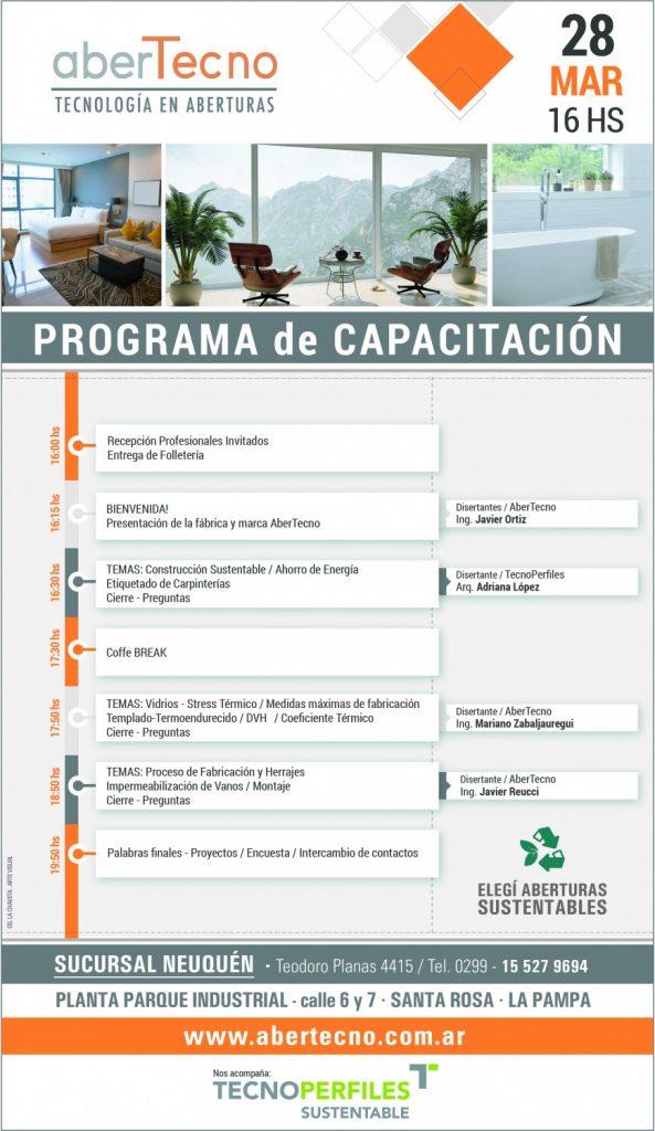 FLYER PROGRAMA DE CAPACITACION